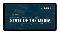 Cision's State of the Media report 2019